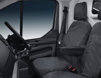 HDD* Seat Cover for driver seat, black