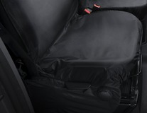HDD Seat Cover for driver seat, black