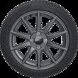 """Leichtmetall-Winterkomplettrad 17"""" 10-Speichen-Design, in Magnetite Matte, Ford Performance"""