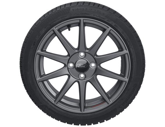"Vinter-komplethjul, alufælg 17"" 10-eget design, Magnetite Matt - Ford Performance"