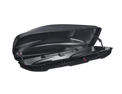 G3* Dachbox Elegance Europe 370, mattschwarz mit Prägung