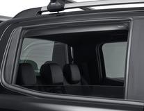 ClimAir®* Defletor de Vento para vidros traseiros, cinzento escuro