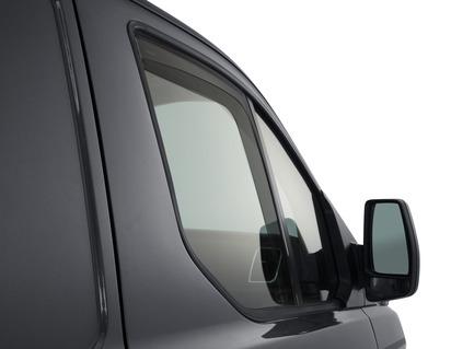 Deflector de aer geam lateral ClimAir®* pentru geamurile laterale din faţă, negru