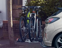 Uebler* Heckfahrradträger X21-S, für 2 Fahrräder, 60° abklappbar