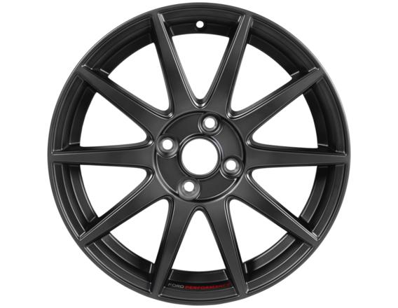 """Kolo Performance 17"""" lehké kované kolo s logem Ford Performance, provedení s 10 paprsky v barvě Magnetite Matt"""