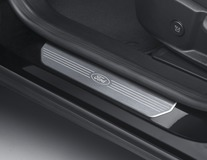 Dorpellijsten voor, met Ford-logo