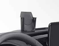 Încărcător universal INBAY sub formă de pahar  ACV* , pentru smartphone-uri compatibile Qi, de culoare negru