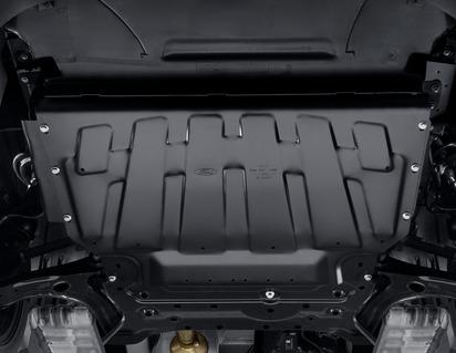 Beskyttelsesskjold til motor og gearkasse