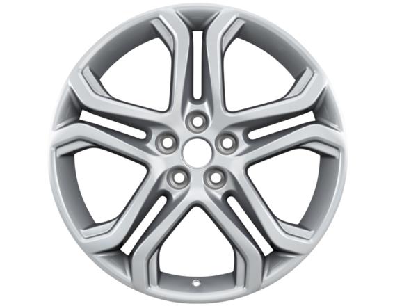 """Lichtmetalen velg 19"""" 5x2-spaaks design, Luster Nickel"""