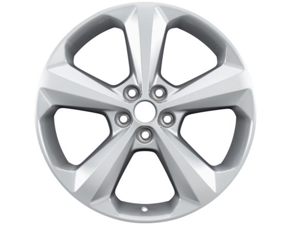 "Lichtmetalen velg 19"" 5-spaaks design, sparkle silver"