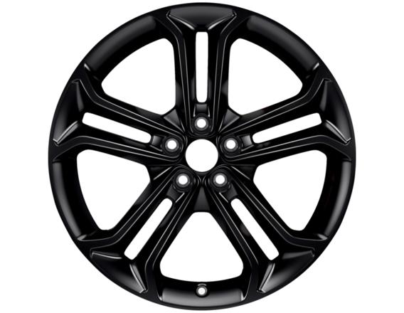 """Lichtmetalen velg 19"""" 5 x 2-spaaks design, Absolute Black"""