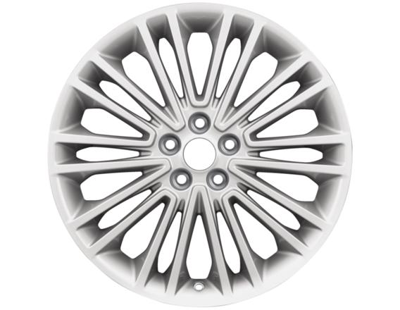 "Lichtmetalen velg 19"" 10 x 2-spaaks design, metallic afwerking"