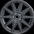 """Performance Rad 19"""" leichtes flow-form Rad mit Ford Performance Logo, 10-Speichen-Design, Magnetite Matt"""