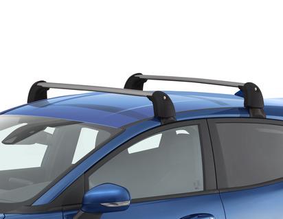 Portaequipajes para vehículos sin raíles de techo de fábrica.