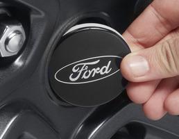 Coprimozzo Nero lucido, con logo Ford