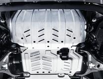 Ochranný kryt motoru sada pro ochranu motoru a chladiče, z hliníku