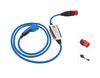 DiniTech* Dispositivo de carga de batería NRGkick  kit estándar para todo tipo de vehículos eléctricos.