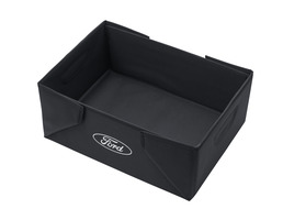 Caixa de Transporte Dobrável tecido preto, com logótipo oval branco Ford em ambos os lados