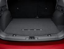 Covoraş de protecţie portbagaj  de culoare neagră, cu logo Kuga
