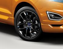 "Alloy Wheel 20"" 5 x 2-spoke Y design, Tarnished Dark"