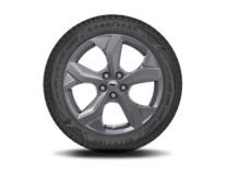 """Vinter-komplethjul, alufælg 18"""" 5-eget Y-design, Carbonized Grey"""