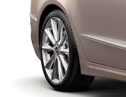 "Alloy Wheel 19"" 10-spoke design, silver"