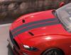 herpa print* Racing Stripes tillbehör för ett extra sportigt utseende, matt svart