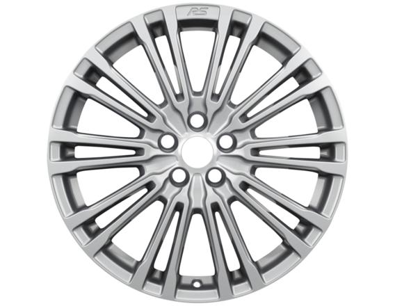"""Lichtmetalen velg 19"""" 20-spaaks design, zilver"""