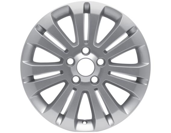 """Lichtmetalen velg 16"""" 7x2-spaaks design, zilver"""