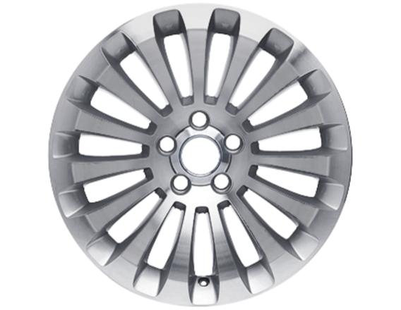 """Lichtmetalen velg 17"""" 15-spaaks design, zilver"""