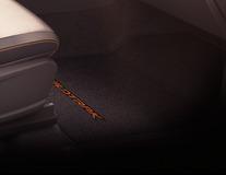 Rohože, prémium velúrové predné, čierne, na strane spolujazdca