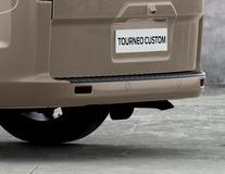 Xvision (SCC)* Parkeersensoren achter, met 4 sensoren in matzwart