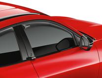 ClimAir®* Defletor de Vento para os vidros das portas dianteiras, transparente.