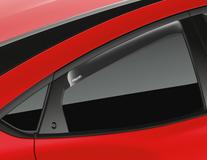 ClimAir®* Defletor de Vento para os vidros das portas traseiras, transparente.
