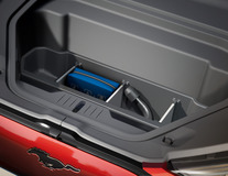 Compartiment depozitare pentru portbagaj față  cu separatoare, portbagaj față