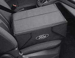 Caixa de Arrumação Dobrável tecido preto, com logótipo oval branco Ford em ambos os lados