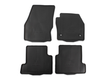 Rubber Floor Mats front and rear, black