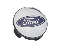 Senterkopp sølv, med Ford-logo
