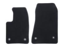 Premium velúrové rohože predné, čierne
