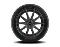 """Vinter-komplethjul, alufælg 17"""" 10-eget design, Magnetite Matte, Ford Performance"""