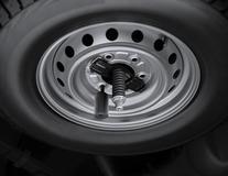 Antivol de roue de secours