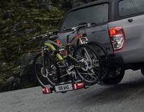 Uebler* Fietsendrager achter X31-S, voor 3 fietsen, 60° kantelbaar