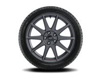 """Vinter-komplethjul, alufælg 18"""" 10-eget design, Ford Performance"""