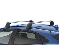 Barres de toit transversales Pour modèles sans barres de toit montées d'usine