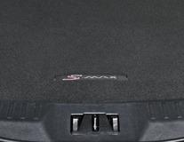 Covoraş de protecţie portbagaj  negru, cu logo S-MAX