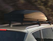 G3* Coffre de toit Elegance Europe 390 Premium, gris anthracite brillant