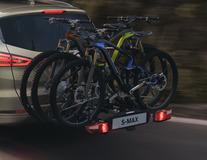 Uebler* Porte-vélos sur attelage X31-S inclinable (3 vélos)