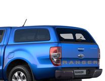Hard Top   cu ferestre laterale, Blue Lightning