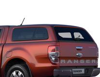 Hard Top   cu geamuri laterale, Copper Red