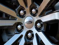 Enjoliveur de moyeu argent, avec logo Ford